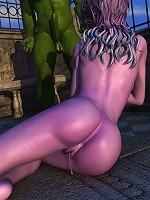 The whole Warcraft porn 3D board looks really drop-dead-go!