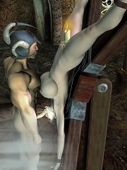 Whore gets nailed in massive ass