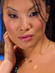 Asa Akira submits to a woman...