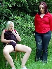 Lesbian girls in training camp