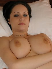 Stunning busty student with perfect big 34 DD