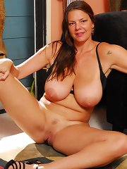 Planet sized knockers sway as this slut gets fucked!