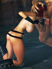 Perfect Princess is drilled with clips by 3D Devil