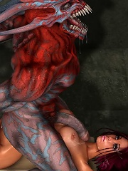 3D Sweetie dominating and getting backreamed