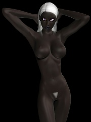 3D renders of the most sexy and exotic girls posing and having sex with all kind of creatures monsters,demons,aliens...