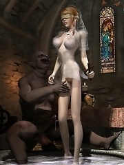Goblin priest washes RedHead Princess error