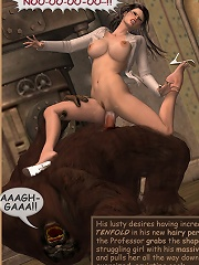 Sorceress gets railed by Toon Devils wang