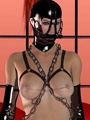 Sexy 3D BDSM Comics