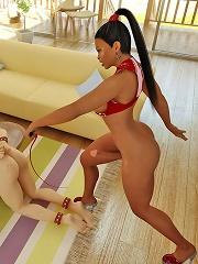 3D Shemale Porn Pics Shemale Dominate Aggressor
