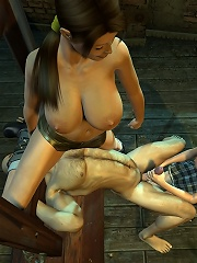 Cock crazed Girl gets a treatment and gets cum
