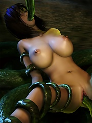 Hentai Porncraft Girl getting sex and giving head