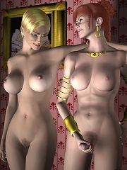 3D miss with lissom body gets played with