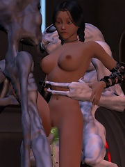 3D Vigrin plays with unlucky Goblin