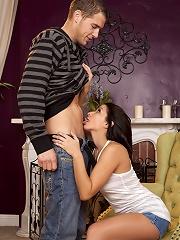 Ann Marie Rios and Chris Johnson