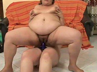 Saggy Tits BBW Riding A Hard Dick