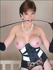 Lingerie whip mistress