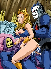 Jane getting banged by Toon monster and covered with jizz