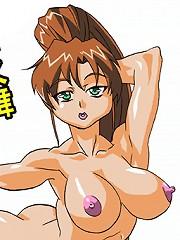 Hardcore futanari body modification