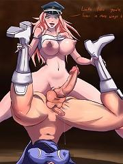 Huge breast futanari girls