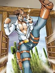 Ladyboy Hunters of the Wild West