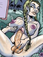 Lara Ravenwood and the Golden Phallus of Quetzalcoatl