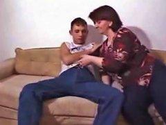 Step Mama Pounce On Me On The Sofa