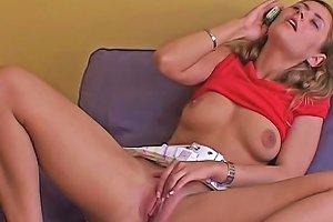 Phone Sex Teen Toys Her Vagina