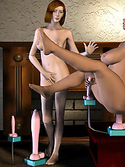 Lovely 3D Mom attacked in...