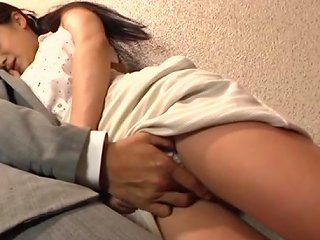 Asian Model With Nice Ass Give A Stranger Blow Job