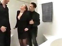 Big saggy tits italian dp bbc