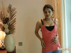 Indian Gujarati Bigtits Babe Kavya Sharma Stripping