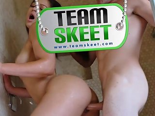 Karissa Kane In Tightly Packed Jizz Showers Teenpies Txxx Com