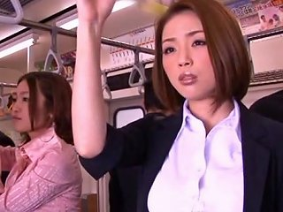 Horny Asian Model Gets Hard Cock In Public
