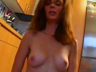 Hot Amateur Milf Gets Fucked In Her Kitchen Free Porn 2c