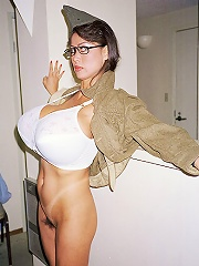 free boobs gallery Asian Legend Minka getting...