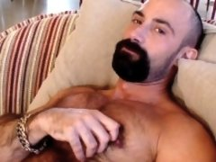 Gay Porn Star Butch Grand gives you a nice solo & masturbation his way.