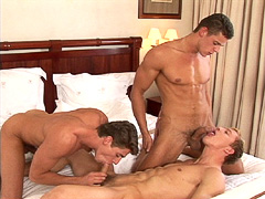 Good looking hunk suck a long dick while getting his one pleased as well