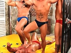 HIGHLY RECOMMENDED Tag-team wrestling Brocky Brown- Chris Stone v Max Summers- Enrico Belaggio First foursome wrestling in the history of Wrestlehard.