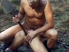 Sexy Men In Uniform Fuck Each Other Hardcore