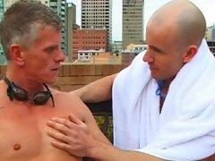 If you like your cocks, big thick and veiny then don't miss this hot Aussie action.  Nat and Andy are feeling the cold. The coach is unrelenting