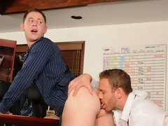 Spencer just got caught by his boss Drew passing an email around the office, making fun of him. Drew calls him to fire him immediatel