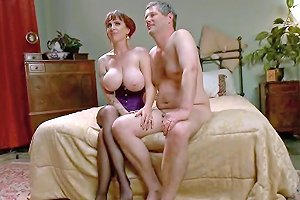Busty Mom Mz Berlin Humiliates And Fucks Wolf Hudson And Some Guy