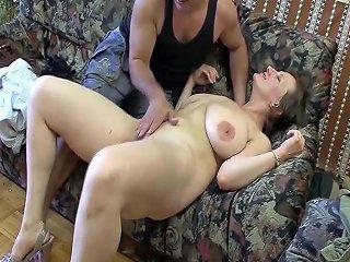 Chubby Milf First Deep Anal Sex