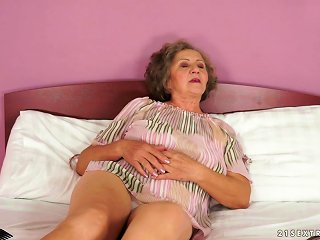 Granny Gets Her Vintage Pussy Pounded By A Younger Guy