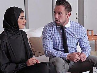 Busty Teenage Arab Fucked