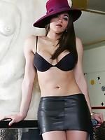Sexy shemale fucks lucky guy!