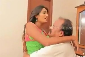 Old Indian Men Romancing With Girls Compilation