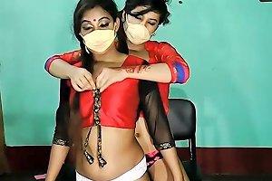 Indian Lesbian Webcam Teasing Txxx Com