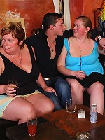 Impressive fat girls have great orgy