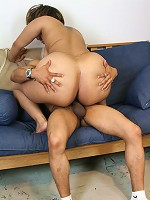 Ghetto booty plumper Chyna gets some big black thick mandingo between her juicy legs